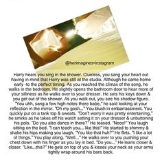 <<< I am not even a harry girl but wow :) One Direction Drawings, One Direction Images, One Direction Harry, Direction Quotes, 1d Imagines, Harry Styles Imagines, Boyfriend Texts, Perfect Timing, 1d And 5sos
