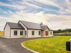 New Build In County Armagh Farmhouse Floor Plans, Modern Farmhouse Exterior, House Designs Ireland, Cottage Design, Home Design Plans, New Builds, Building A House, House Plans, Armagh