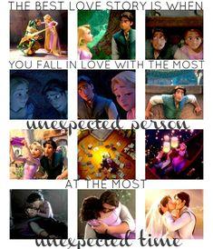 Rapunzel and Eugene <3