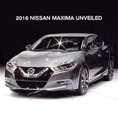 Introducing the all new 2016 Nissan Maxima with sports-car performance.