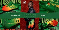 Sadio Mané and New Balance Football Reveal Senegal Inspired Boots Football Fashion, Soccer Boots, Liverpool Fc, New Balance, Inspired, News, Inspiration, Biblical Inspiration, Inspirational
