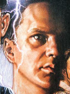 The Shawshank Redemption - one sheet - anniversary re-release - USA - Drew Struzan artwork Great Films, Good Movies, 1990s Films, Tim Robbins, The Shawshank Redemption, 10 Anniversary, Male Face, Cool Artwork, All About Time