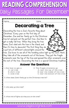 Help your students enjoy reading comprehension practice with this set of daily passages for December. If you are looking for fun activities to help your students with reading comprehension strategies, check out this packet for the month of December-Christmas, Hanukkah, winter! Each worksheet has a short story with an illustration and 5 questions. Great for advanced 1st grade, 2nd grade, and 3rd grade extra practice. Kids enjoy reading these fun stories while improving their skills.