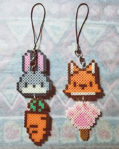 Zootopia perler beads by milozhang                                                                                                                                                     More