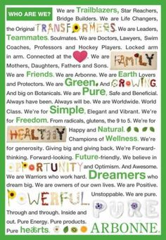 """arbonne banners 