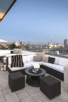 Terraza chillout   #terraza #balcon #terrace #balcony #chillout