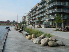 Residential waterfront edge, Nordhavn