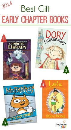 The BEST early chapter books 2014 to give your kids as gifts for Christmas or other holidays.