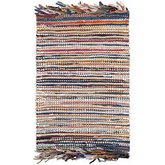 Safavieh Handmade Vintage Boho Leather Zhanna Modern Stripe Leather Rug with Fringe x - Multi), Brown Accent Rugs, Rug Material, White Area Rug, Throw Rugs, Woven Rug, Vintage Leather, Colorful Rugs, Rug Runner, Rug Size