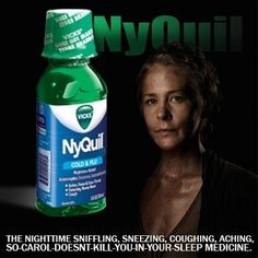 Don't Cough or Carol will kill you!!