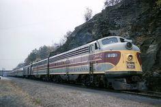 Lackawanna Railroad EMD Diesel Locomotives.