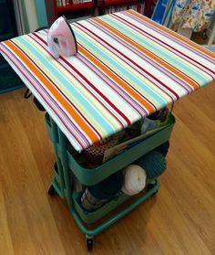 ellyn's place: Raskog ironing space