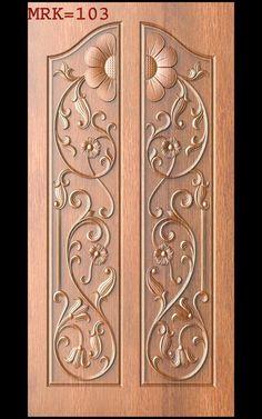 JDPaint - ZBrush added a new photo — with Muthukamatchi Muthukamstchi in Hanoi, Vietnam. Home Door Design, Pooja Room Door Design, Door Design Interior, Interior Modern, Wooden Front Door Design, Double Door Design, Wooden Front Doors, Single Main Door Designs, Box Bed Design