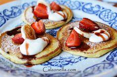 placuszki jogurtowe Pancakes, Lunch, Breakfast, Recipes, Food, Morning Coffee, Eat Lunch, Eten, Recipies