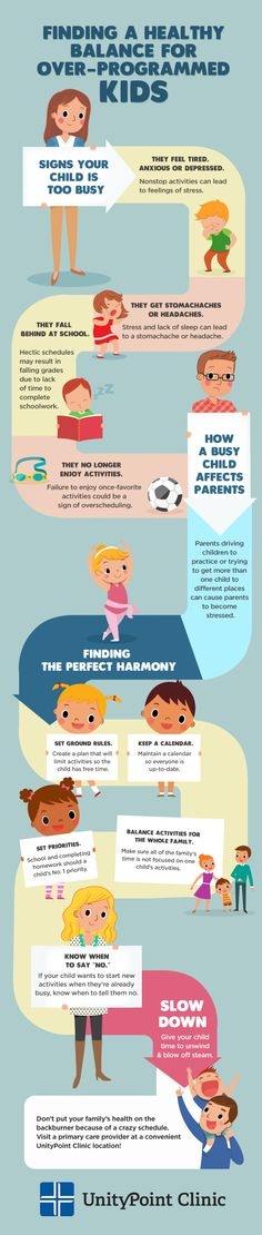 It is not uncommon as a parent to want the best for your child and this often means enrolling them in various afterschool programs and activities. But when does it become too much? Get a jump-start on the new year by finding the healthy balance that works best for your child!
