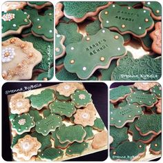 #Henna inspired #sugarcookies made for a #Mehndi party by @Henna_ByBella