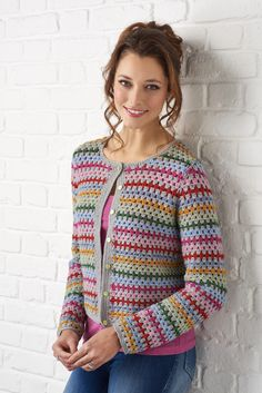 Simply Crochet granny cardigan Fran Morgan