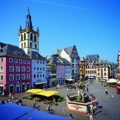Trierer Marktplatz - in der schönen Rheinland-Pfalz (© RLP Tourismus)