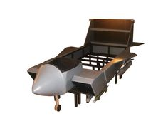 Fighter Jet Bed Frame With Removable Missiles Hh Wuz Here
