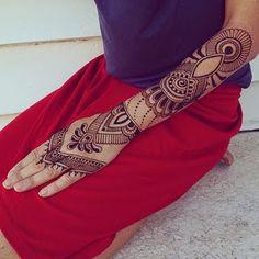 Artist design Henna Tattoos Ideas Hand and Arm For Women ► Henna ...