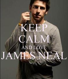 KEEP CALM AND LOVE JAMES NEAL