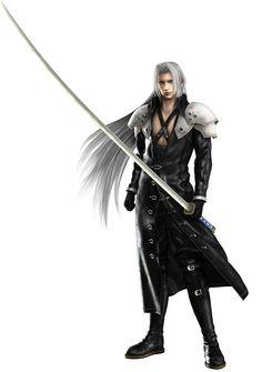 Sephiroth - Villains Wiki - villains, bad guys, comic books, anime Final Fantasy Xv, Final Fantasy Crisis Core, Final Fantasy Collection, Final Fantasy Artwork, Final Fantasy Characters, Fantasy Series, Fantasy World, Character Art, Character Design