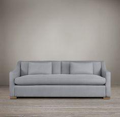 Sleeper Sofas Belgian Classic Slope Arm Upholstered Sleeper Sofa