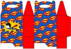 Superman Free Printable Lunch Box.