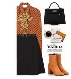 """Fratelli Karida"" by yexyka ❤ liked on Polyvore featuring Fratelli Karida, Gucci, Valentino, STELLA McCARTNEY, Hermès and FratelliKarida"