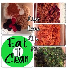 Eat Clean    Www.LiveLoveLifeFit.com  #Fitness #Fit #Gym #OnlineCoach #PersonalTrainer #CleanEating #WeightLoss #MuscleGain #WeightTraining #WeightLifting #Exercise