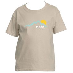 Moab, Utah Mountain Sunset - Youth/Kid's T-Shirt