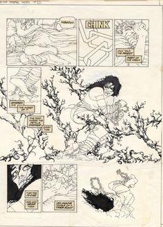Elektra Lives by Frank Miller Comic Art