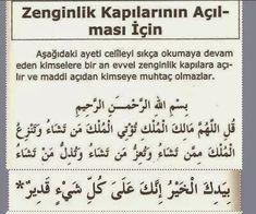 DUÂ DERYASI: bu ayet zenginlik kapısı açmak için Tune Music, Islam Quran, Allah, Prayers, Words, Pandora, Instagram, Quote, Prayer