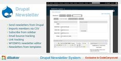 Buy Drupal Email Newsletter Module by dtbaker on CodeCanyon. Simple Drupal Newsletter System This plugin gives your Drupal Website a simple and powerful newsletter system. Linkedin Network, Email Newsletters, Drupal, Social Marketing, Wordpress Plugins, Things That Bounce, At Least, Coding
