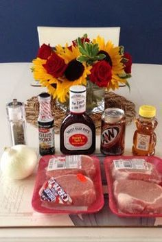 Kiss My Apron: Root beer Pulled Pork   (Crock pot Recipe!)  -  I would use less BBQ sauce and an extra spoon of liquid   smoke.