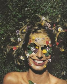 A Flower Child's the only way to be . .