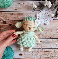 Amigurumi pattern/Crochet pattern/Crochet sheep/Knitting #crochet #crochetpattern #affiliate