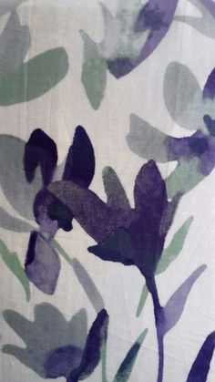 DKNY King Duvet/Shams Floral Purple Green White 3 PCS 100%Cotton NWT #DKNY #Contemporary