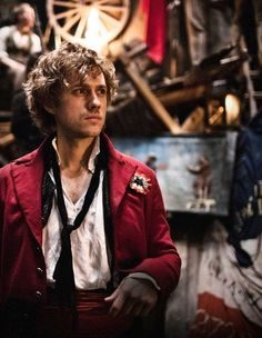 Enjolras. he can climb my barricade any day u feel me