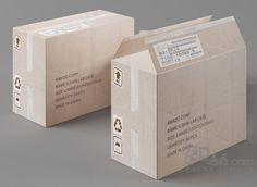 纸箱3d模型(88194)