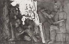 "Pablo Picasso - ""In my workshop"", 1965"