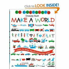 Newer Edition...but our guy needs this in his library! Ed Emberley's Drawing Book: Make a World