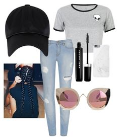 """""""Untitled #2"""" by ariadae on Polyvore featuring WithChic, Marc Jacobs, Native Union and Quay"""