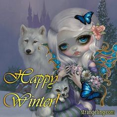 Happy Winter by Jasmine Beckett Griffith