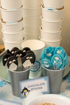 Boys Winter Wonderland Party Food Ideas cake pop ideas