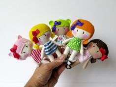 small handmade dolls | Cook You Some Noodles