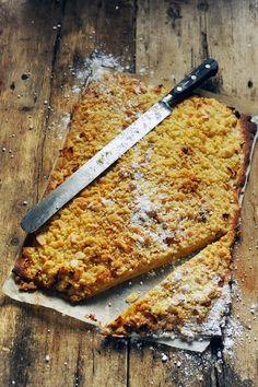 Entre tarte et crumble aux pommes