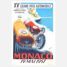 Monaco Grand Prix 1957- #B.Minne #MonacoGrandPrix #Sports #Monaco