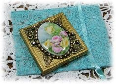 Altered Vintage Pill Box