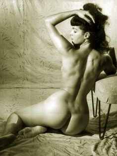Betty Page   Vintage Pin Up